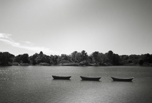 black-and-white-boats-lake-three