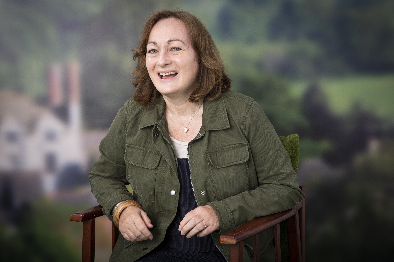 Hay Festival Portrait- Wendy White