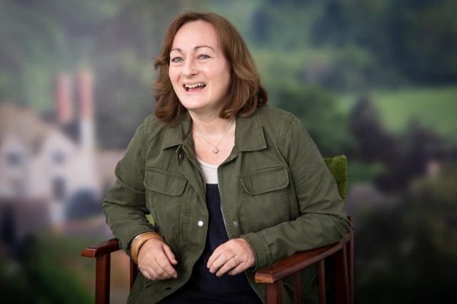 Hay Festival Portrait- Wendy White